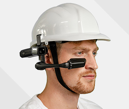 Helmet for remote commissioning